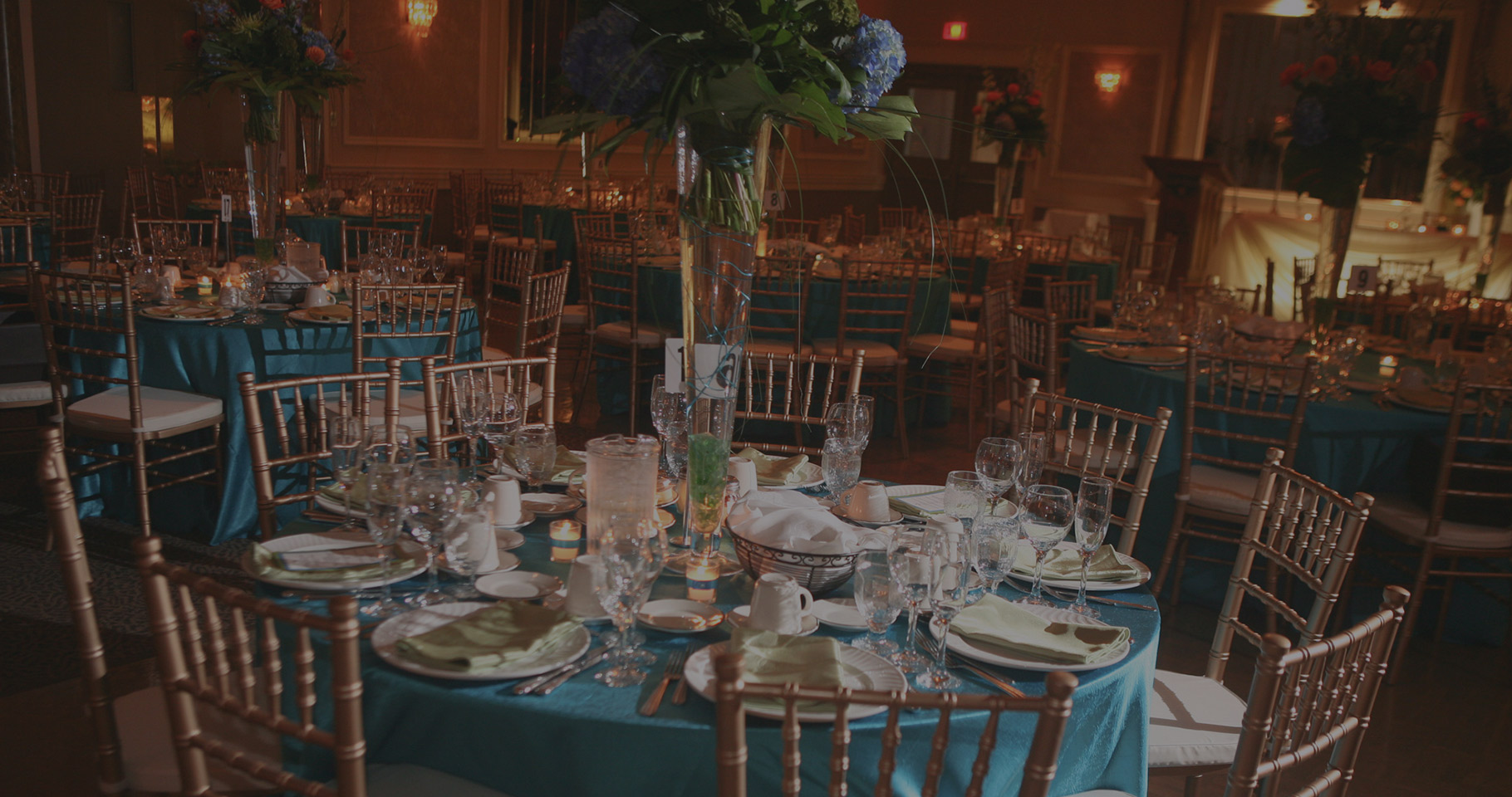 Niagara Wedding venue table